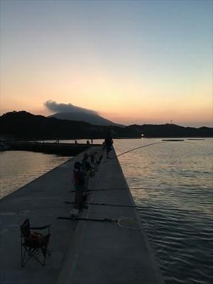 船越漁港の朝マズメ